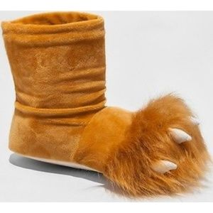 Women's Lion Slipper Boots